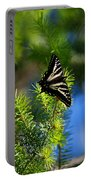 A Pale Swallowtail Vertical Portable Battery Charger
