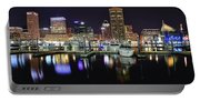 A Panoramic Baltimore Night Portable Battery Charger