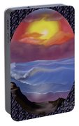 A Pastel Seascape  Portable Battery Charger