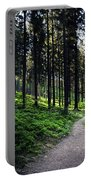 A Path Through A Dense Forest Portable Battery Charger
