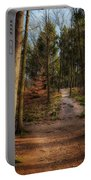 A Path Through The Woods Portable Battery Charger