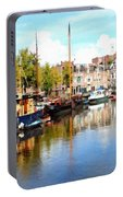 A Peaceful Canal Scene - The Netherlands L B Portable Battery Charger