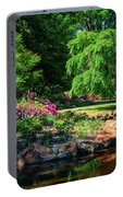 A Peaceful Feeling At The Azalea Pond Portable Battery Charger