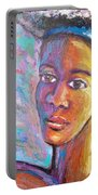 A Pensive Moment Portable Battery Charger