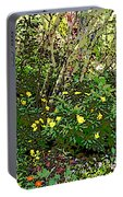 A Place Along The Way To Stop And Rest Portable Battery Charger by Eikoni Images