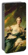 A Portrait Of Anne Josephe Bonnnier De La Mossau  Portable Battery Charger