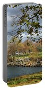 A Quiet Urban Scene Portable Battery Charger