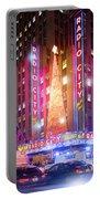 A Radio City Music Hall Christmas Portable Battery Charger