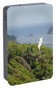 A Red-billed Tropicbird (phaethon Portable Battery Charger