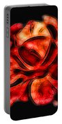 A Red Rose For You 2 Portable Battery Charger