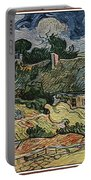 a replica of the landscape of Van Gogh Portable Battery Charger