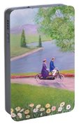 A Ride In The Park Portable Battery Charger