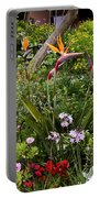 A Riot Of Flowers Portable Battery Charger