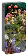 A Riot Of Roses Portable Battery Charger