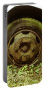 A Rolling Tire Gathers No Moss Portable Battery Charger