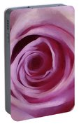 A Rose Abstract Portable Battery Charger