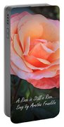 A Rose Is Still A Rose Portable Battery Charger