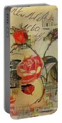 A Rose Story Portable Battery Charger