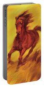 A Running Horse Portable Battery Charger