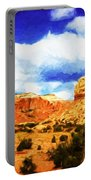 A Scene From Abiquiu Portable Battery Charger