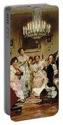 A Schubert Evening In A Vienna Salon Portable Battery Charger