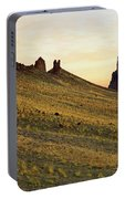 A Shiprock Sunrise - New Mexico - Landscape Portable Battery Charger