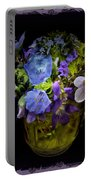 A Shot Of Springtime Wildflowers Portable Battery Charger