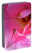 A Spider And A Rose Portable Battery Charger