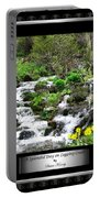 A Splendid Day On Logging Creek Portable Battery Charger