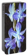 A Spray Of Orchids Portable Battery Charger