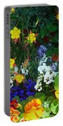 A Spring Garden Medley Portable Battery Charger