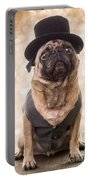 A Star Is Born - Dog Groom Portable Battery Charger by Edward Fielding