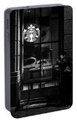 A Starbucks Respite In Downtown San Jose Portable Battery Charger