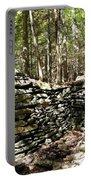 A Stone Structure In The Berkshire Hills Portable Battery Charger
