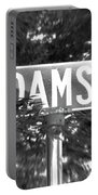 Ad - A Street Sign Named Adams Portable Battery Charger