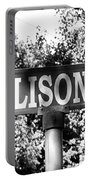 Al - A Street Sign Named Allison Portable Battery Charger