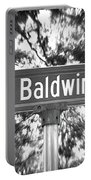 Ba - A Street Sign Named Baldwin Portable Battery Charger