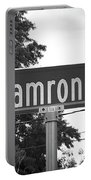 Ca - A Street Sign Named Camron Portable Battery Charger
