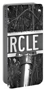 Ci - A Street Sign Named Circle Portable Battery Charger