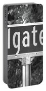 Co - A Street Sign Named Colgate Portable Battery Charger