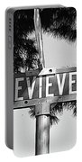 Ge - A Street Sign Named Genevieve Portable Battery Charger
