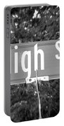 Hi - A Street Sign Named High Portable Battery Charger