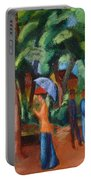 A Stroll In The Park Portable Battery Charger