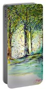 A Stroll On East 93rd Portable Battery Charger