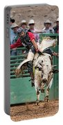 A Strong Bull Ride Portable Battery Charger
