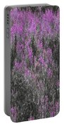 A Suggestion Of Wildflowers Portable Battery Charger