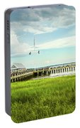 A Summer Evening In Charleston Portable Battery Charger
