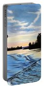 A Sunset Show Portable Battery Charger
