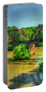 A Time Gone By Railroad Bridge Lumber City Georgia Portable Battery Charger