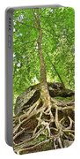 A Tree And It's Roots Portable Battery Charger